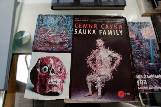 Utena County, Lithuania: Работы сына Сауки посмотрели в книжке