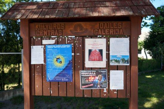 Utena County, Lithuania: В культурном центре много мероприятий