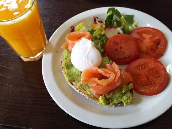 beste vegetarische Frühstück London
