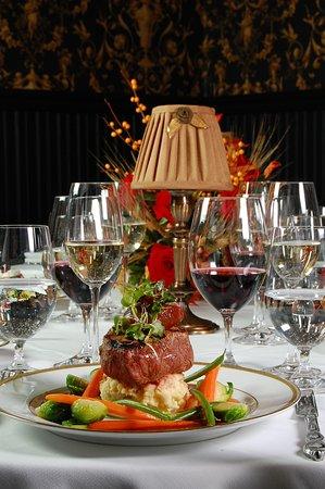 Whispers Restaurant : Center Cut Filet Mignon