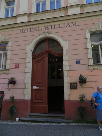 Hotel William: Fronte Hotel