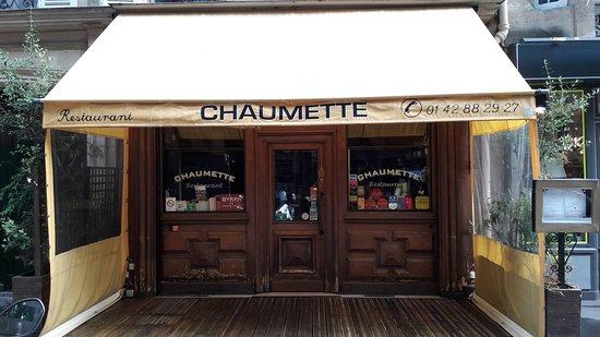 Chaumette Restaurant Paris