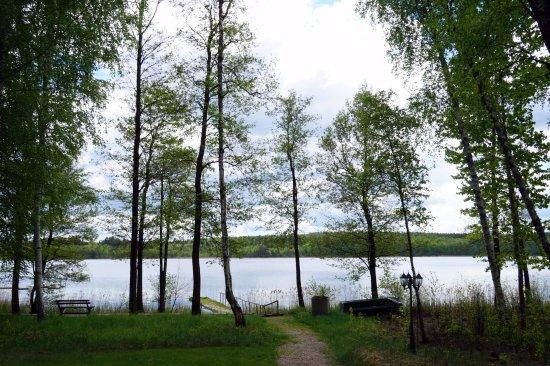 Zarasai, Litauen: Вид на озеро