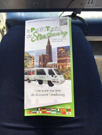Petit Train Touristique de Strasbourg