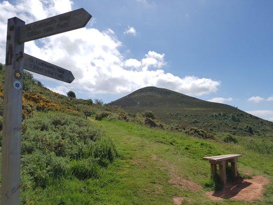 Melrose, UK: Eildon Hills