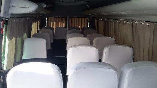 Turismo Explorer: Interior de nuestras unidades móviles para el confort de nuestros clientes