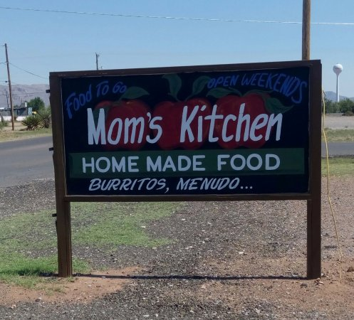 Van Horn, TX: Mom's Kitchen