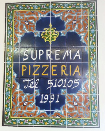 Alfreton, UK: Suprema Pizzeria at this location since 1991