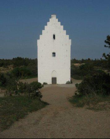 Jütland, Dänemark: Sand Church (Den Tilsandede Kirke)