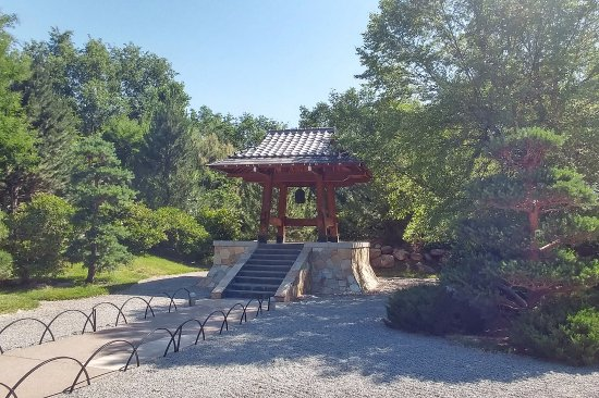 Temple in japanese garden picture of abq biopark botanic garden albuquerque tripadvisor for Botanical gardens albuquerque new mexico
