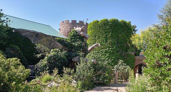 Castle in children\'s garden - Picture of ABQ BioPark Botanic Garden ...