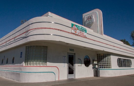 Exterior diner picture of 66 diner albuquerque for 50 s diner exterior