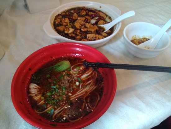 Chuan Ban Restaurant: Dan Dan noodles is off the printed menu.  担担面 if you want them