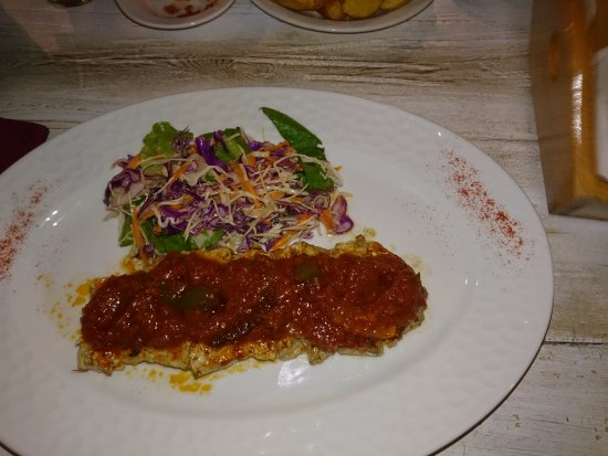 Gerani, Grecia: Pork with a spicy sauce