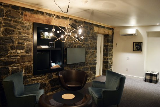 Chateau Fleur de Lys - L'HOTEL : Suite Junior (2 lits Queen) - Inspired by the Sixties - Salon