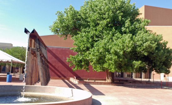 Water feature - Picture of National Hispanic Cultural Center ...