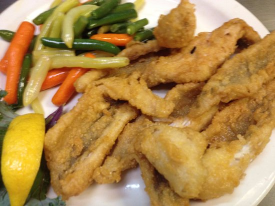 Fair Haven, MI: Fried Perch!
