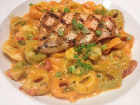 Fair Haven, MI: Salmon Tortellini!
