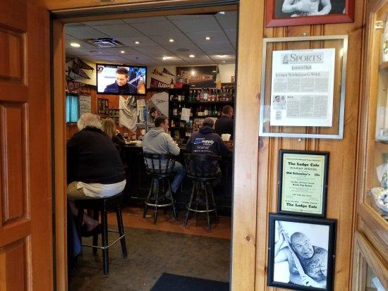 Newburyport, MA: Look inside the Bar area
