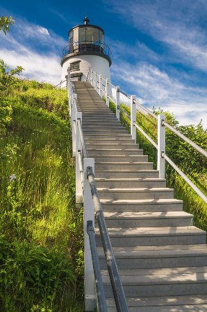 Owls Head, ME: Stairway to the Light
