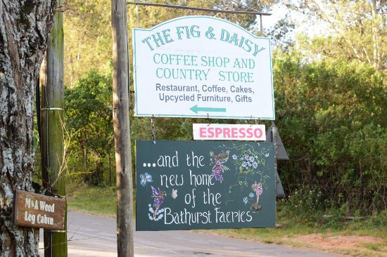 Bathurst, Sudafrica: Lookout for this sign.