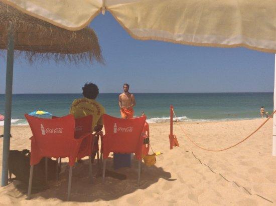 Wax Restobar: View to Lifeguards