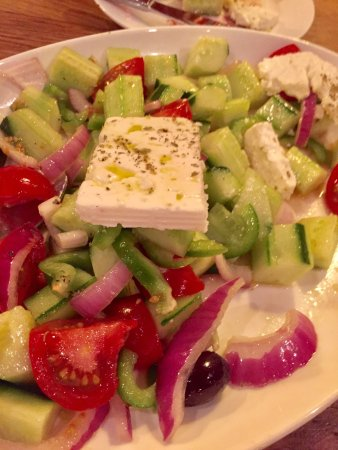 Great Falls, VA: This is the best food this side of the Greek Isles