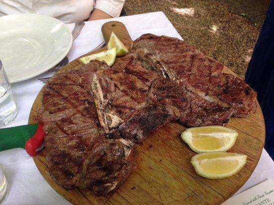 Camaldoli, Italia: Ottimo cibo