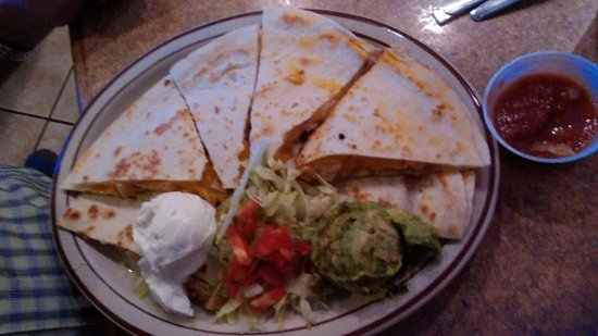 Mesilla, NM: Chicken quesadilla.