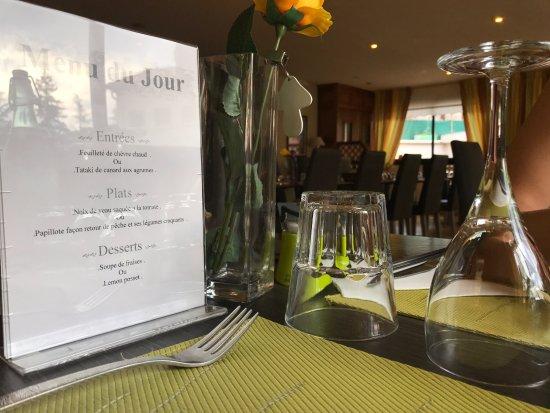 Vernet-Les-Bains, ฝรั่งเศส: sencilla propuesta de menú diario