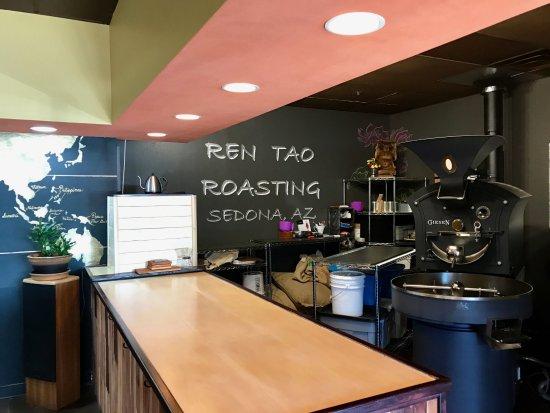 roasting area