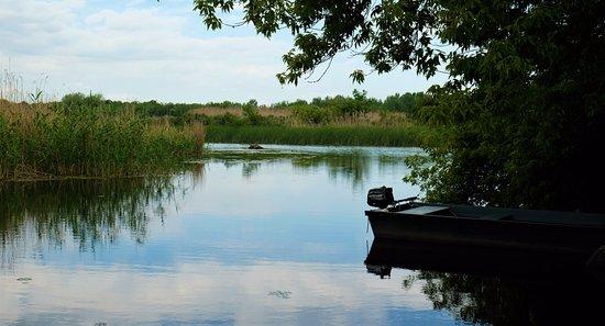 Tiszaderzs, Hungary: Het Tisza meer