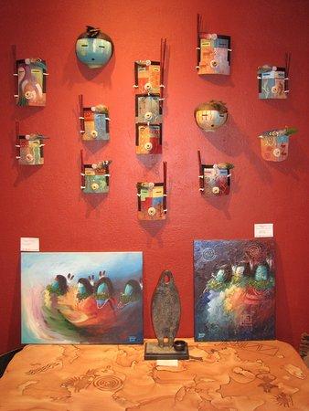 david john navajo artist picture of toh atin gallery durango
