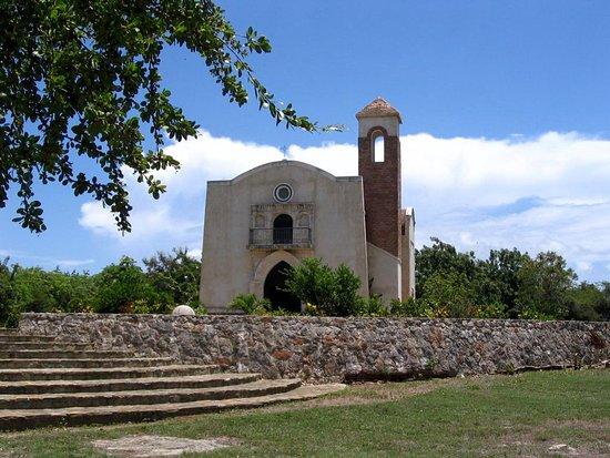 Luperon, República Dominicana: El Castillo church