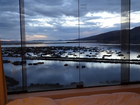 Libertador Lago Titicaca: View of the lake from our room