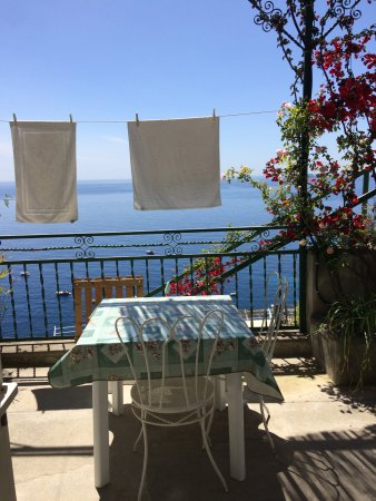 Casa Soriano: The view every morning and every night