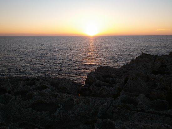 Apartamentos Solvasa Cabo de Banos: Vistas de la puesta de Sol