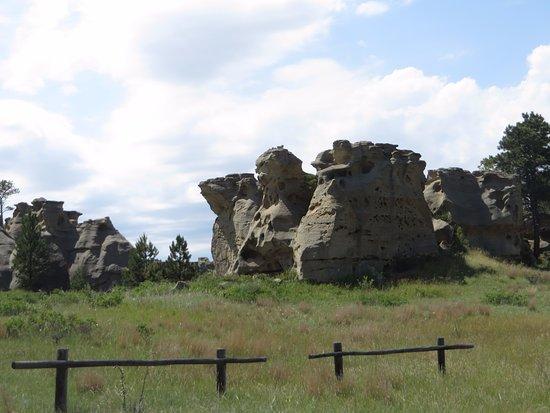Ekalaka, MT: Medicine Rocks State Park #2
