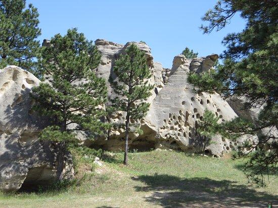 Ekalaka, MT: Medicine Rocks State Park #3