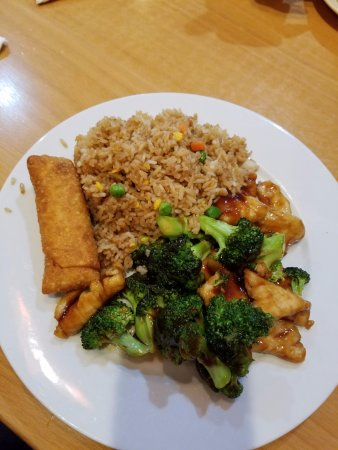 Dumfries, فيرجينيا: Beef and Broccoli, fried rice and eggroll