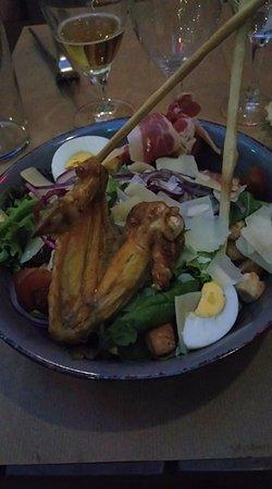 """Pitcholina: Salade """"césar"""""""