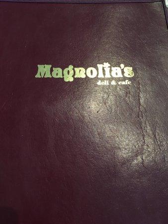 Magnolia's Deli & Cafe : Menu