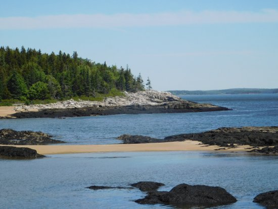 Georgetown, Maine: View from the hill