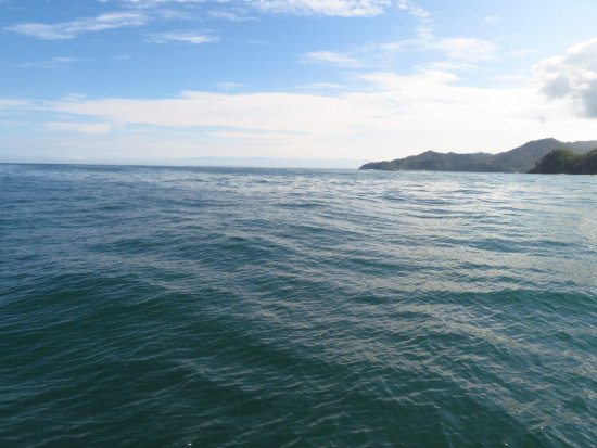 Playa Tortuga, Costa Rica: An oceanview approach to Tortuga Island.