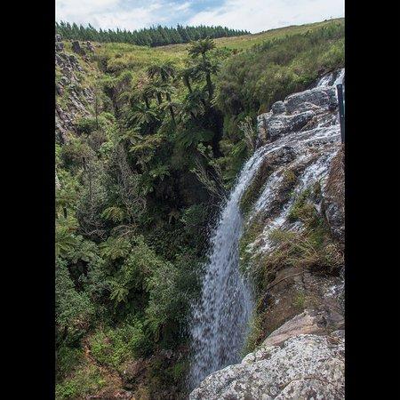 Graskop, Sudáfrica: Queda dágua não tem ponto de vista de frrente, pena !!