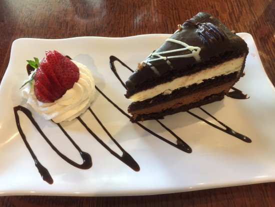 Saint Paul, NE: Chocolate cake - not to be missed.