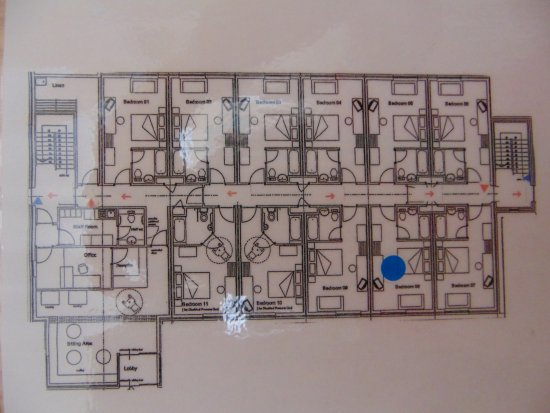 Eye Sleep Over: Ground floor, floor plan