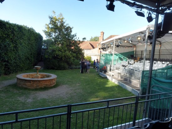 The Watermill Theatre: Watermill Theatre, 'Garden Stage' Seating