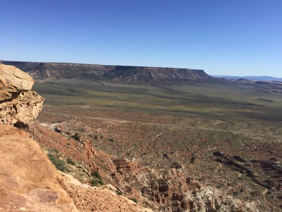 Springdale, UT: Southern View from Gooseberry Mesa