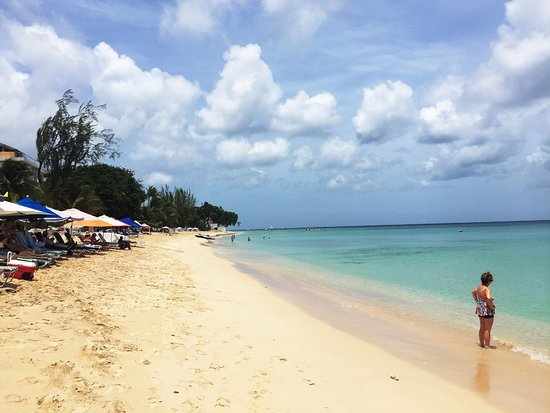 Rockley, Barbados: Our Beach for the day